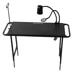 Cable Table Portable Work Tables for Fiber Splicing and Cable Termination.